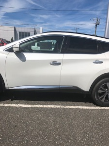 2019 Murano Pearl White SV